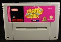 Super Nintendo (SNES): Frantic Flea - Cart Only